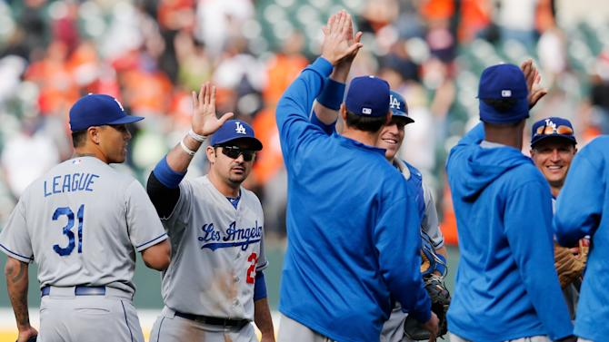 Los Angeles Dodgers v Baltimore Orioles