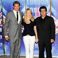 Britain's Got Talent judges Amanda Holden, David Hasselhoff and Michael McIntyre