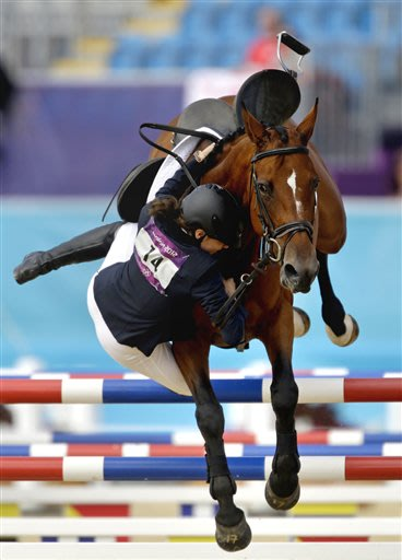 APTOPIX London Olympics Modern Pentathlon Women