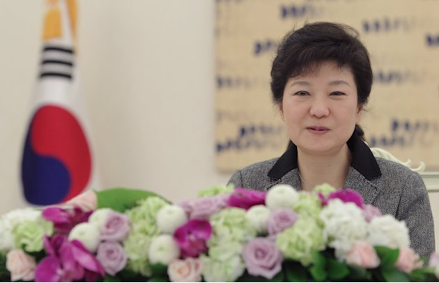 South Korean Park Geun-Hye �