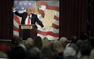Trump speaks at the South Carolina Tea Party Coalition Convention in Myrtle Beach