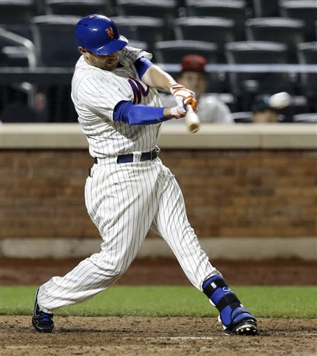 Brown rallies Mets past Diamondbacks 5-4 in 13
