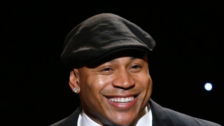 IMAGE DISTRIBUTED FOR THE PRODUCERS GUILD - LL Cool J speaks onstage at the 24th Annual Producers Guild (PGA) Awards at the Beverly Hilton Hotel on Saturday Jan. 26, 2013, in Beverly Hills, Calif. (Photo by Todd Williamson/Invision for The Producers Guild/AP Images)
