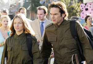 Tracy Spiridakos and Billy Burke | Photo Credits: Brownie Harris/NBC