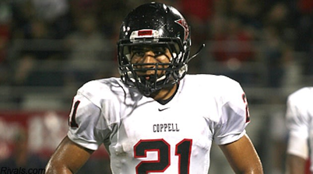 Coppell wide receiver and defensive back Jacob Logan — Rivals.com