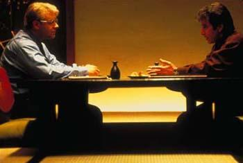 Russell Crowe and Al Pacino in The Insider