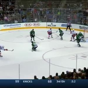 Kari Lehtonen Save on Johnny Boychuk (14:00/1st)