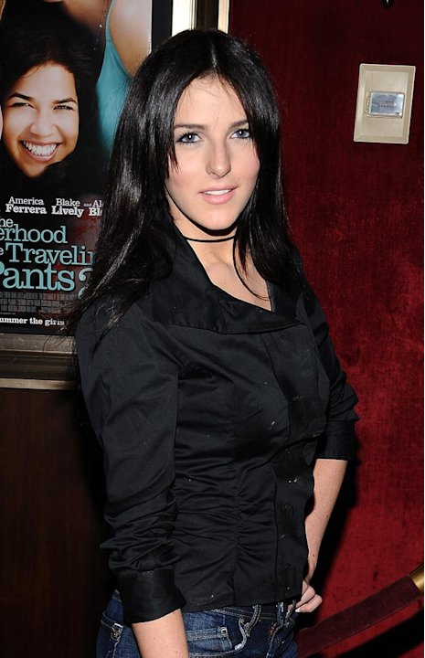 The Sisterhood of the Traveling Pants 2 Premiere 2008 Ali Lohan