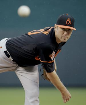 Tillman goes distance in Orioles' 4-0 win over KC