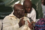 <p>Ghana opposition presidential candidate Nana Akufo-Addo gives a press conference on December 28, 2012, in Accra. Ghana's President John Dramani Mahama will be sworn into office on Monday following last month's polls in a ceremony to be boycotted by the opposition, which has claimed fraud and challenged the results in court.</p>