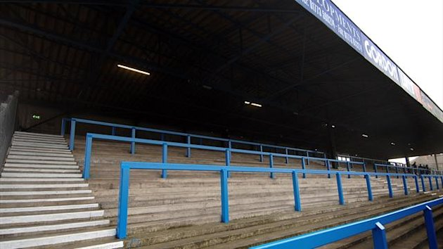 General view of terracing at the Recreation Ground, home to Chesterfield FC (PA Photos)