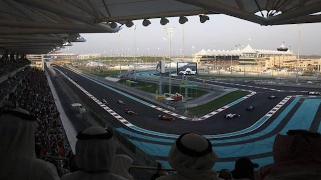 Yas Marina circuit
