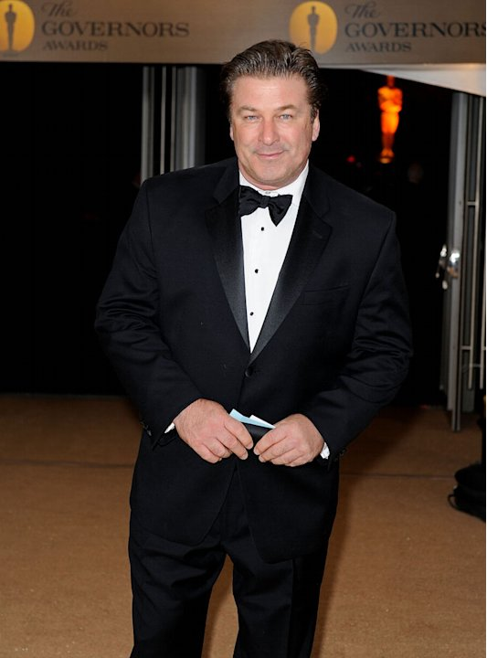 Alec Baldwin arrives at the Academy of Motion Picture Arts and Sciences' Inaugural Governors Awards held at the Grand Ballroom at Hollywood & Highland Center on November 14, 2009 in Los Angeles, Calif