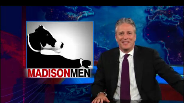 Jon Stewart Takes a Whiff of Wisconsin and It Stinks