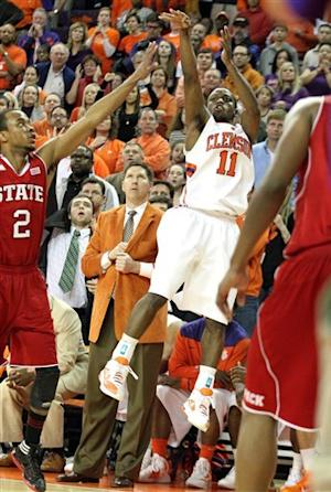 Young lifts Clemson past NC State 72-69 in OT