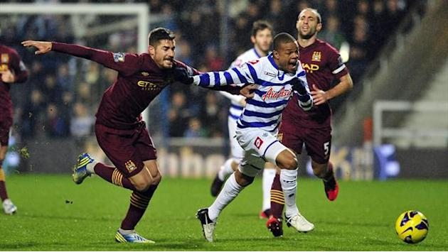 Premier League - QPR hold Man City to stalemate