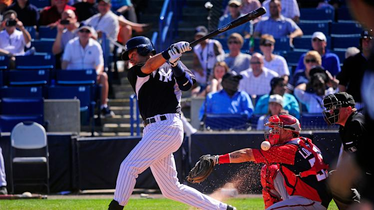MLB: Spring Training-Washington Nationals at New York Yankees