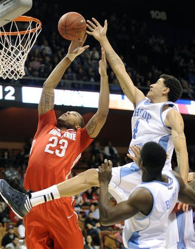 Ohio State tops URI 69-58 in Tip-Off tournament