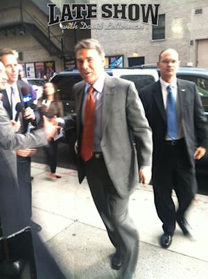 Rick Perry Laughs Away the Pain with David Letterman