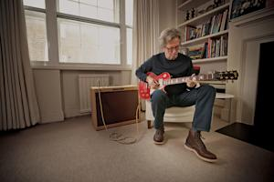 Eric Clapton Talks Hendrix, Cream and Guitars at Home: Premiere