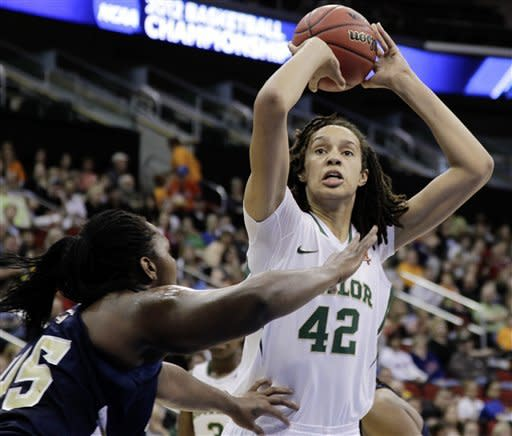 Griner dunks as Baylor women rout Georgia Tech