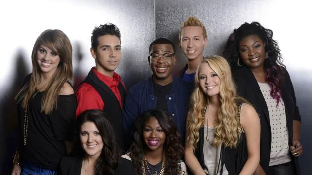 The 'American Idol' Season 12 Top 8 -- FOX