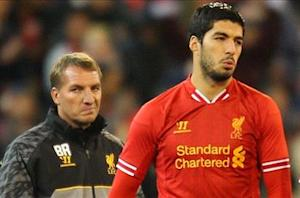Rodgers: Suarez 'chomping at the bit' after bite ban