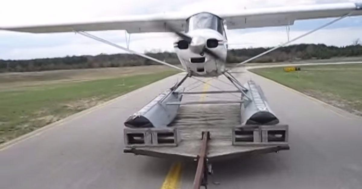 Have You Ever Seen a Sea Plane Take Off Like This?