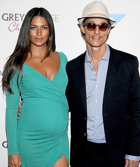Matthew McConaughey, Camila Alves Name Newborn Son Livingston