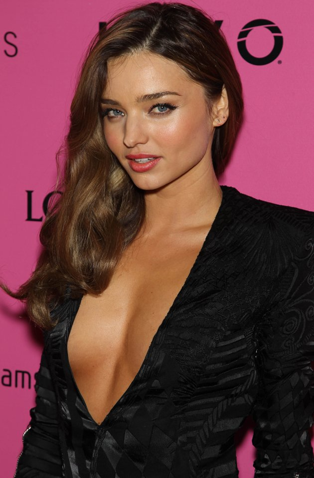 Miranda Kerr also rocked this dress on the red carpet. Copyright [Rex]