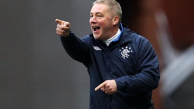 Ally McCoist admitted he was overwhelmed by the response of the Rangers fans