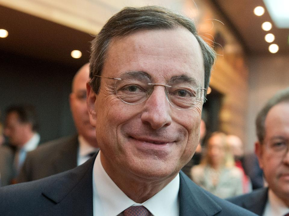 ECB's Draghi assessing impact of strong euro