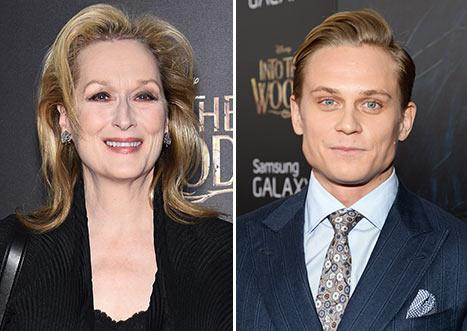 """Meryl Streep to Her Into the Woods Costar Billy Magnussen: """"I Got You This F--king Part"""""""
