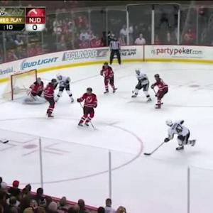 Cory Schneider Save on Simon Despres (16:01/1st)