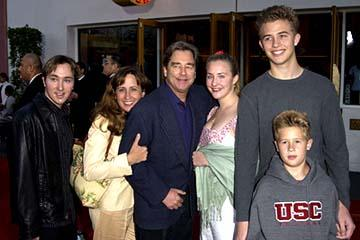 Premiere: Beau Bridges and family Bruce Almighty Premiere 5/14/2003