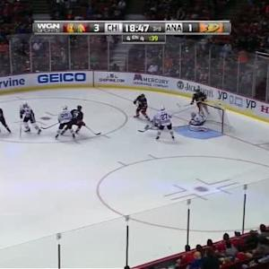 Corey Crawford Save on Hampus Lindholm (01:14/3rd)