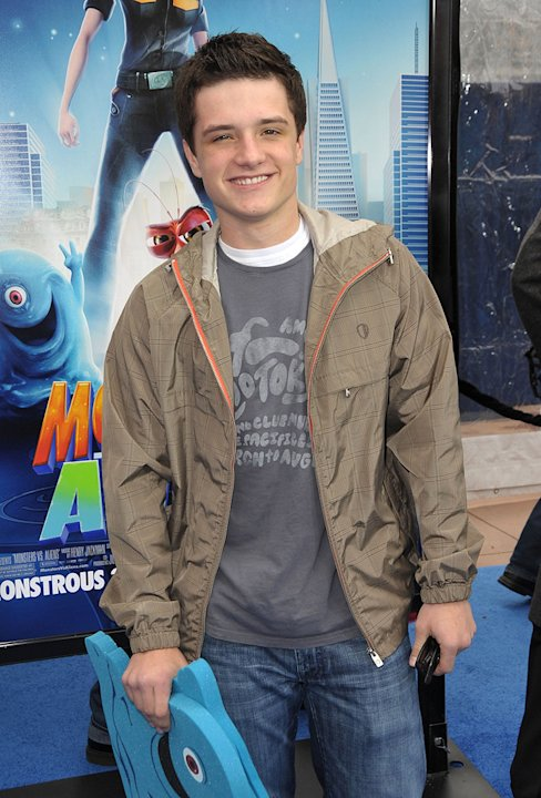 Monsters vs Aliens LA Premiere 2009 Josh Hutcherson