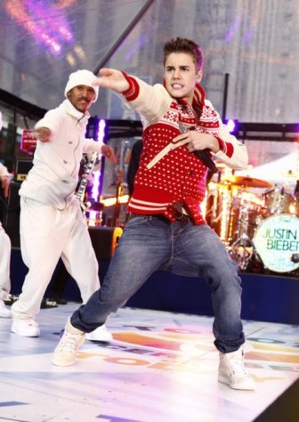 Justin Bieber on 'The Today Show'