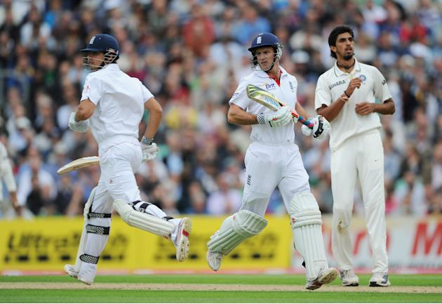 England v India: 4th npower Test - Day One