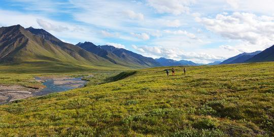 #Daydream:Oolah Valley in Gates of the Arctic National Park, Alaska