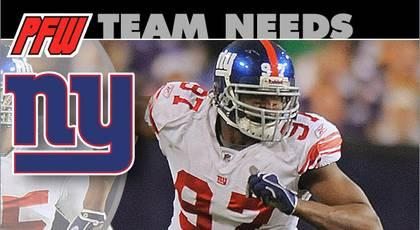 New York Giants: 2013 team needs