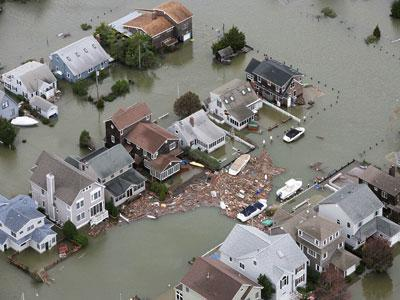 NJ governor tours shore devastation
