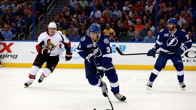 Ottawa Senators v Tampa Bay Lightning