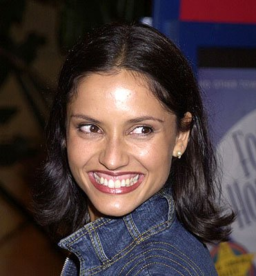Leonor Varela at the Hollywood premiere of Donnie Darko