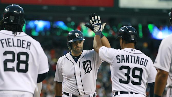 Avila's grand slam gives Tigers 5-1 win over Nats
