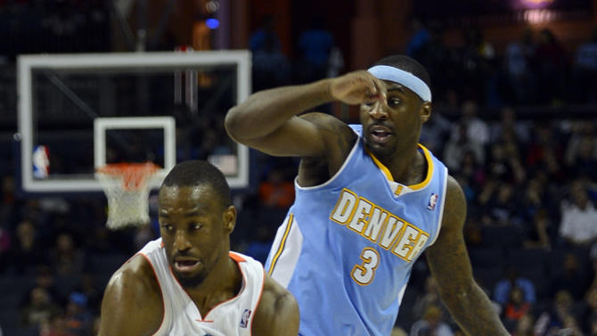 NBA: Denver Nuggets at Charlotte Bobcats