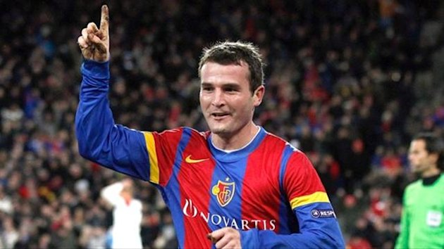 Alexander Frei Basel United Champions League 2011