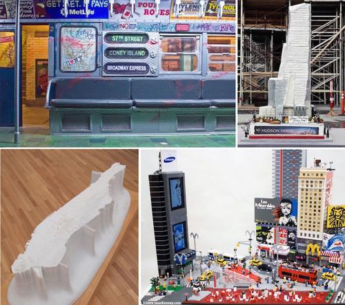 Micro Week 2015: 8 Miniature Models of New York City, from LEGO to Cake