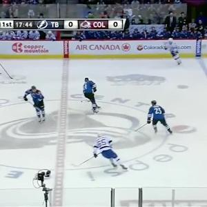 Tampa Bay Lightning at Colorado Avalanche - 03/02/2014