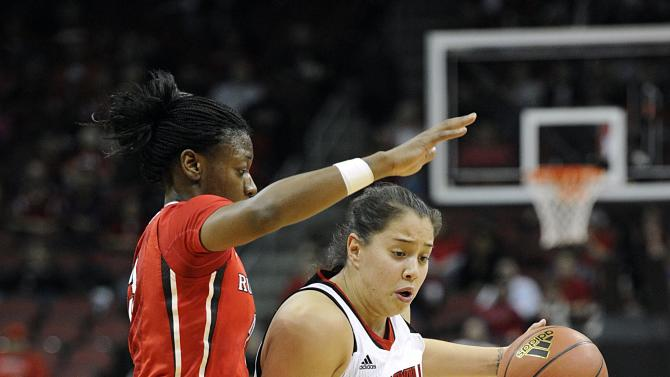 NCAA Womens Basketball: Rutgers at Louisville